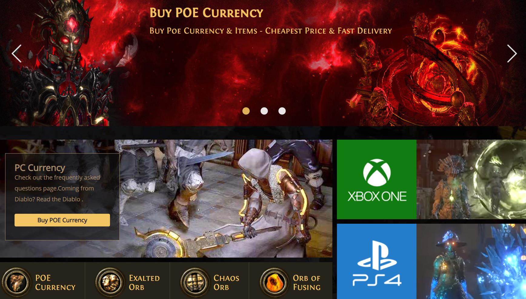 How we get the POE Currency and POE Items