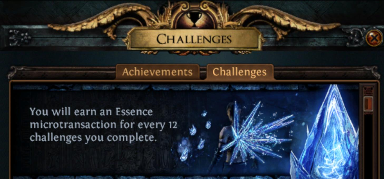 The Path of Exile Essence League Challenges and Rewards