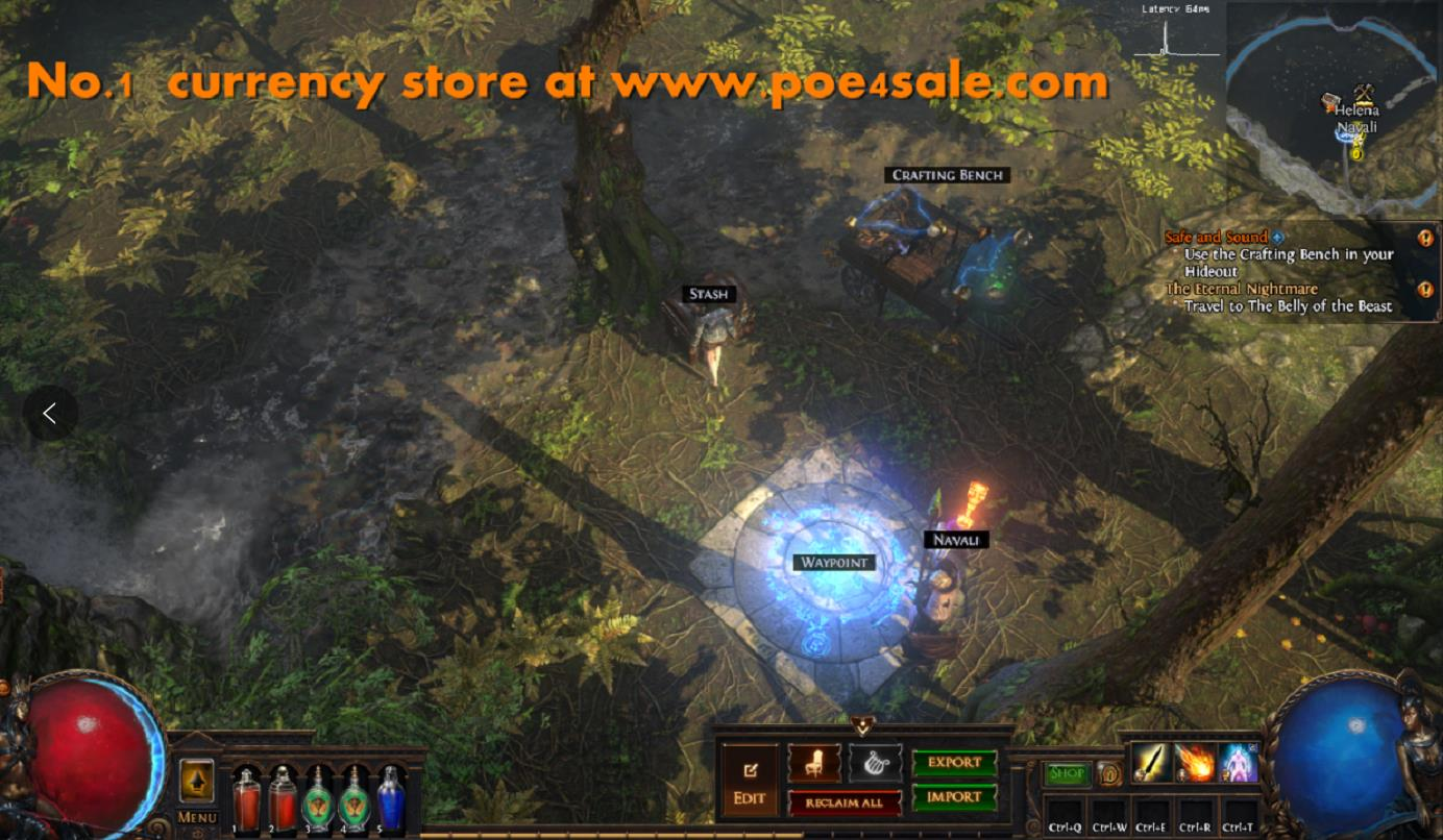 No.1 POE Currency seller site