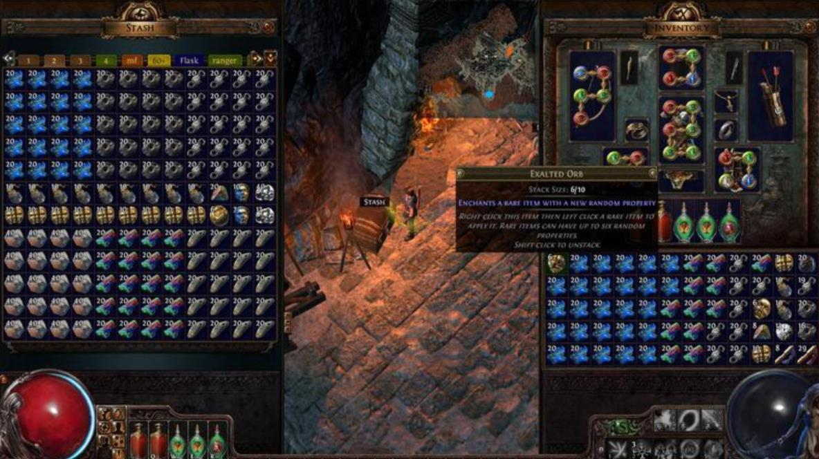Path of Exile Items are Available