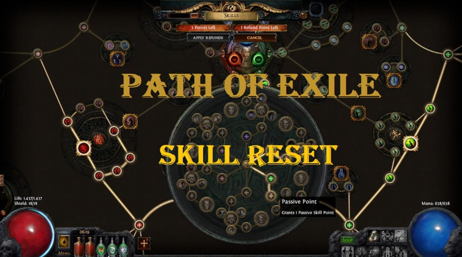 Path of Exile: The Awakening first details - Rethinking the skill tree