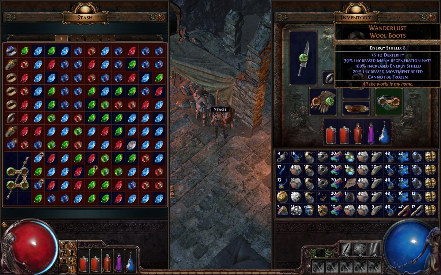 The currency history of the game is talked from the path of exile 1
