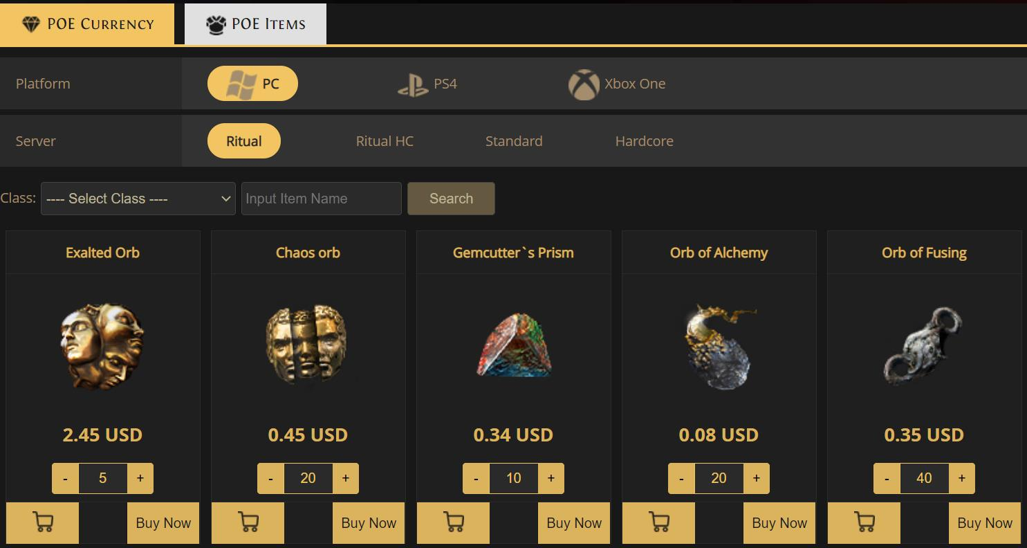 What Makes Path of Exile Different from POE4Sale.Com
